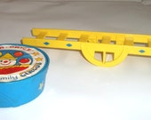 Vintage Fisher Price Play Family Circus #135 Ladder Stand and 7 rung ladder Little People