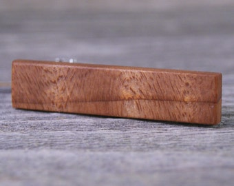 Tie Clip: California Redwood tie tack