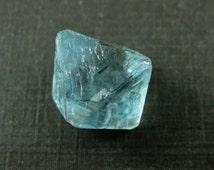 Loose Gemstone, Raw Crystal Gemstone, Octagon Shape, Loose Crystal Stones,Sea Blue Crystal Gemstone,Solid Non-drilled, 17mm Sku: 330694-BLU