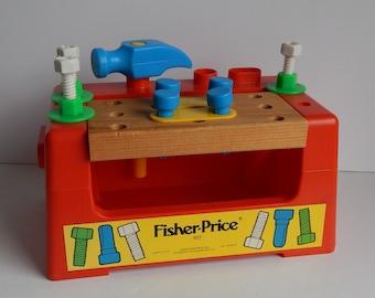 1980 Fisher Price Toy Workbench