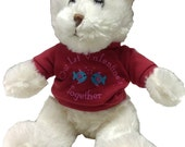 """Personalized """"our 1st valentine together"""" bear"""