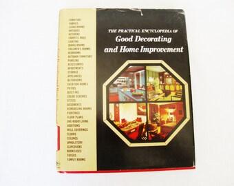 vintage 1970s, decorating encyclopedia, volume 3, good decorating and home improvement, greystone press 1970