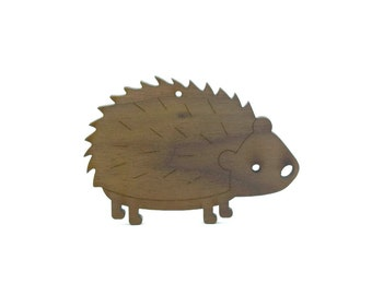 Hedgehog Personalized Christmas Ornament
