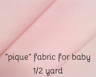 Light Pink Cotton Baby Girl Fabric. childrens fabric.  rose weaved fabric. baby cotton fabric. kids fabric by the meter