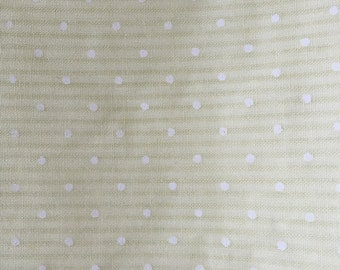 Vintage Yellow Polka Dot - 2 Yards