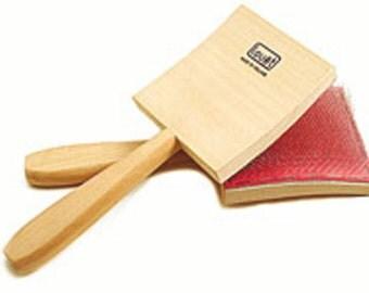 Louet Mini Hand Cards, Extra Fine Cloth