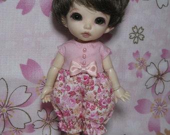 Pink Rompers for Lati Yellow / Pukifee