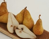 1/12TH scale - rustic board with pears.