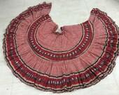 25 yd Block Print Veg Dye Skirt MF118