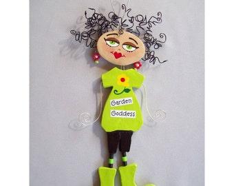 Garden Goddess Sassy Art doll