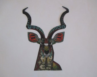 Deer Applique Iron On 7""