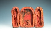 Miniature Ceramic Reliquary