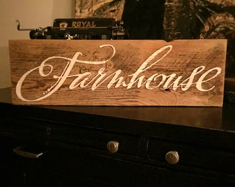 Farmhouse Barnwood sign by Old Barn Rescue Company, farmhouse decor, modern farmhouse, rustic sign, vintage sign