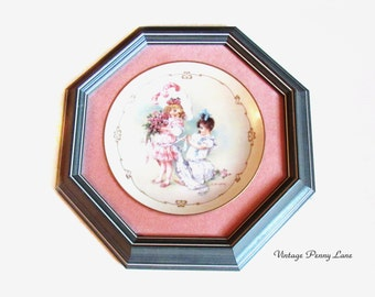 Wood Framed Collection Plate, Bridesmaid / Bridal