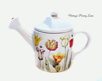 Marjolein Bastin Ceramic Teapot, Garden Theme Tea Pot