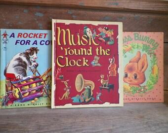 Vintage - Trio of 1950s-60s Childrens Books
