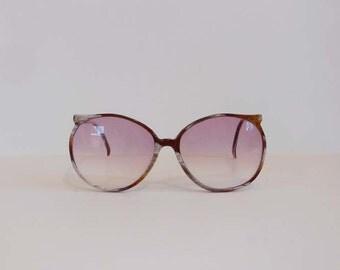 1980s eyeglasses / Vintage 80's Emilio Pucci Round Eyeglass Frames Sunglasses