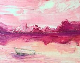 World Of My Own Orginal Acrylic Painting