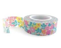 Floral Washi Tape - 15mm x 10 metres - Planner Washi Tape - Floral Masking Tape - Pretty Masking Tape - Washi Tape Australia