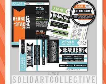 Custom Product Label or Sticker Design