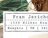 Address Stamp, Custom Address Stamp, Return address stamp, Personalized Rubber Stamp, Invitations, Self Inking Rubber Stamp - 1026