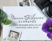 Self Inking Address Stamp, Address Stamp, Custom Address Stamp, Return Address Stamp, Personalized Gift, Rubber Stamp, Christmas Gift - 1010