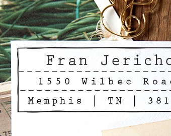Address Stamp, Custom Address Stamp, Return address stamp, Personalized Rubber Stamp, Invitations, Self Inking Rubber Stamp - 1026