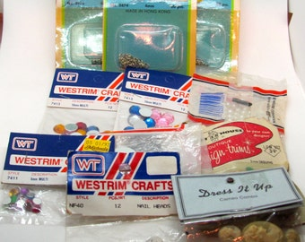 Crafts and Jewelry Bundle