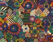 Liberty Tana Lawn Fabric NEW DESIGN A/W 2016 19x33 Worlds Collide Small Liberty Tissu