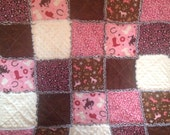 Riley Blake Wanna Be A Cowboy ...Girl Rag Quilt