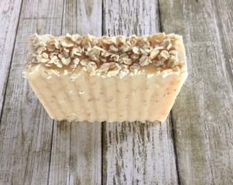 Oatmeal & Honey Artisan Soap - Bath and Body - Handmade Soap - Natural Soap