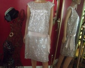 Vng Beaded Flapper Dress  Flirty  Darling Dress Size 14