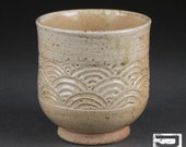Salt-Fired Stoneware Yunomi (tea cup)