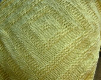 Susan's Squares Baby Blanket pattern