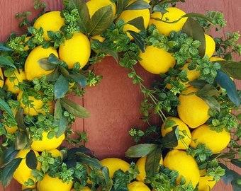 Lemon Wreath.....Junior