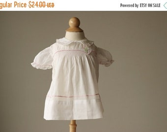 ON SALE 1940s Mitzi Spring Dress~Size 3 Months