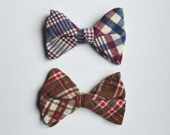 Bowties Plaid Bowties Mens Bowties Vintage Bowties Mens accessories Ties Casual Bowties Wedding Bowties country Bowties