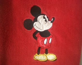 Vintage Disney Mickey Mouse Towel and Washcloth