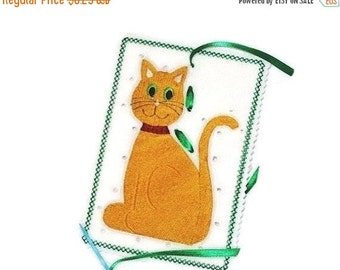 SALE KITTY SEWING Card