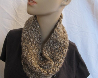 SALE - Camel Infinity Scarf/Cowl (5049)