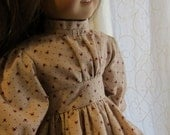 Vintage Style Dress For American Girl Doll (shipping incl)