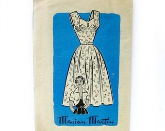 1950s Vintage Sewing Pattern - Sundress and Bolero - Marian Martin 9091 / Size 14 UNUSED