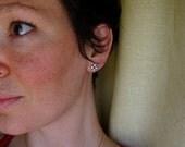 custom quatrefoil earrings
