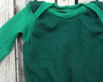 Sewing PATTERN - Baby Envelope Merino Wool Shirt Sweater - Sizes 3 to 24 Months