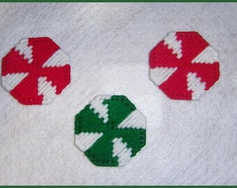 Peppermint Magnets PATTERN ONLY