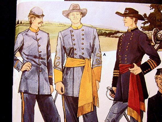Confederate Uniform Patterns 31