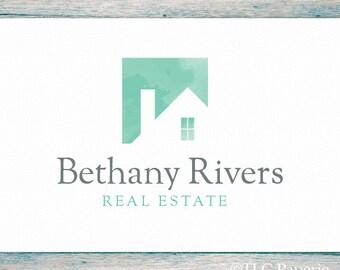 Real Estate Logo, Realty Logo, Custom Logo,  Realtor Logo, Contractor Logo,  Interior Designer Logo, House Logo