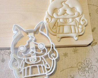 Yo-Kai Watch Jibanyan Cookie Cutter - Fondant Icing Cake Cupcake Topper Iced Sugar Cookies Biscuits Mould Birthday Party Anime Yokai Youkai
