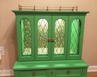 Happy Green Cabinet