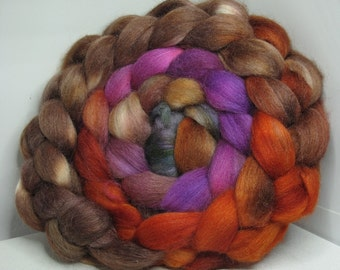 Merino/Baby Alpaca/Tussah 50/30/20 Roving Combed Top - 5oz - Castle Stairs 1